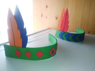DIY corona de Indio