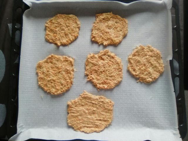tortitas zanahoria y calabacín 2
